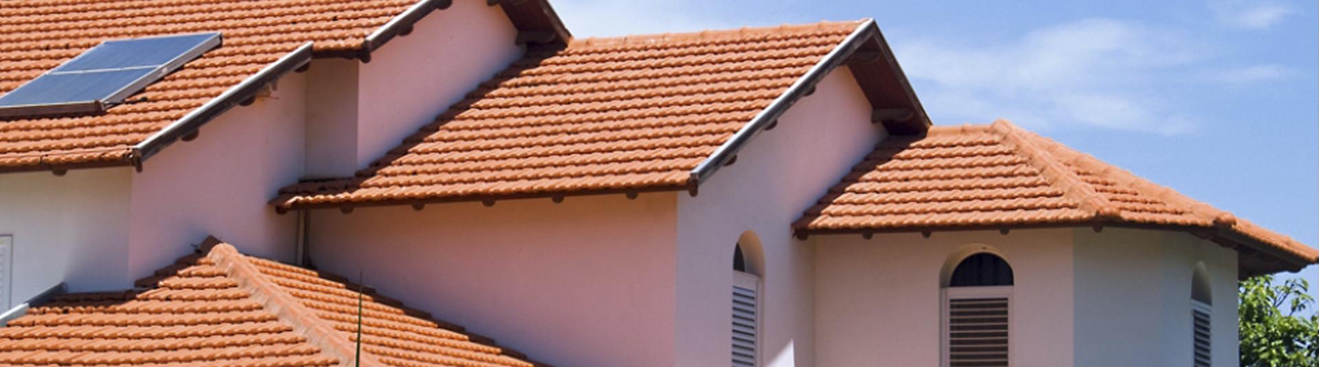 תמונה של גגות בניין